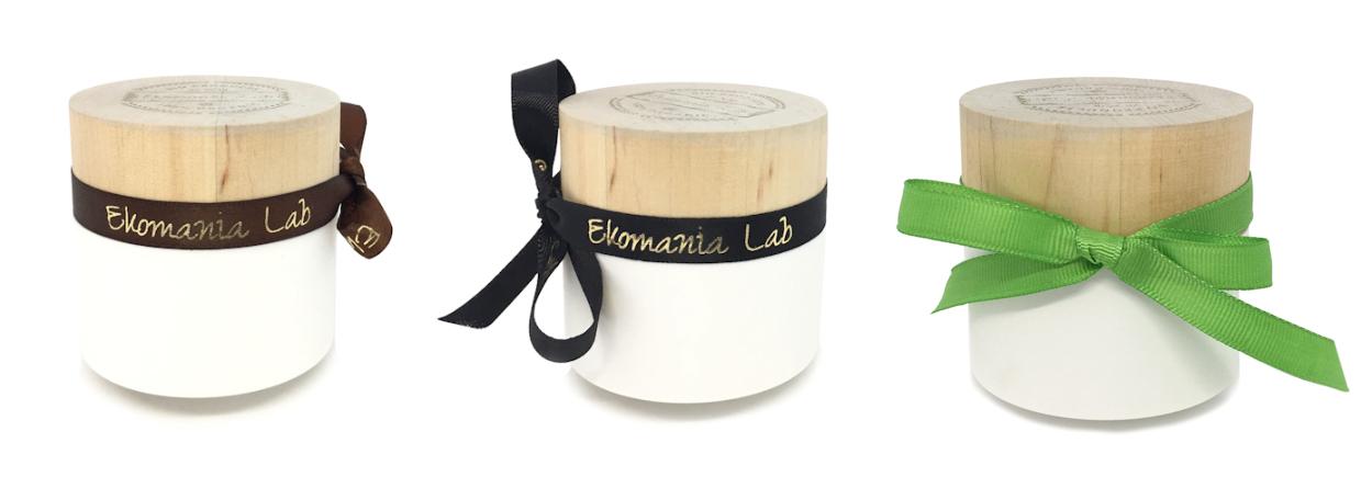 ekologiczne drewniane opakowania na kosmetyki Ekomania Lab